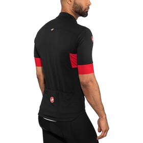 Castelli Prologo VI Maillot manches courtes Homme, black/red/black